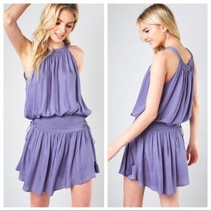 Do + be smocked waist drawstring dress